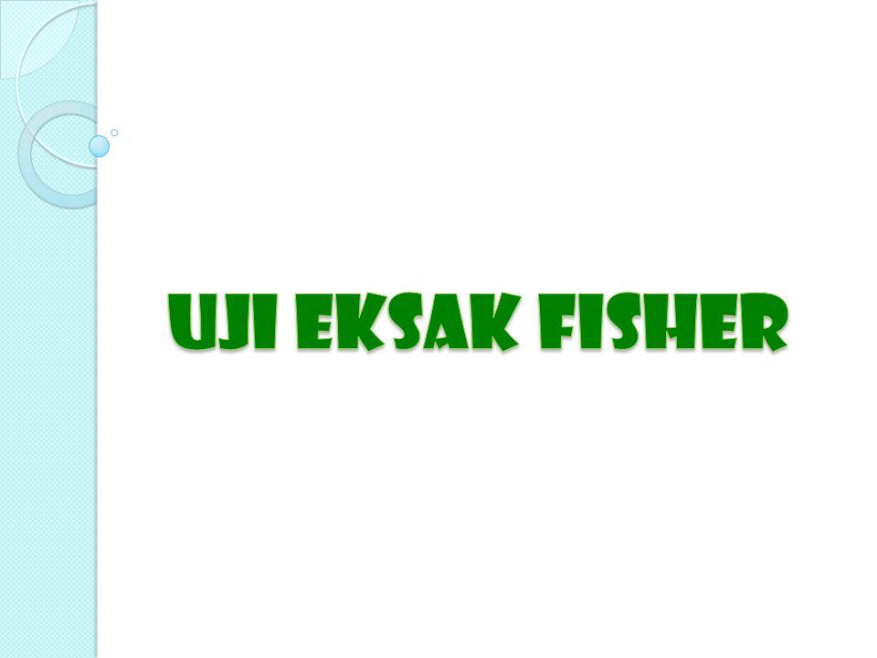 UJI eksak fisher