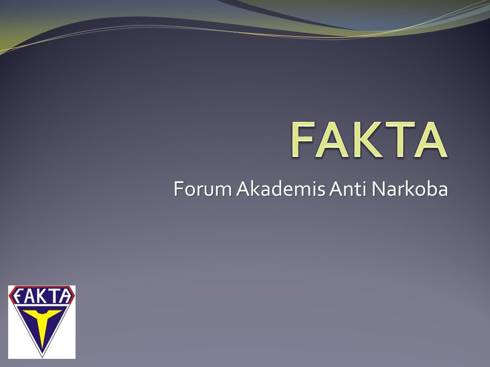Forum Akademis Anti Narkoba