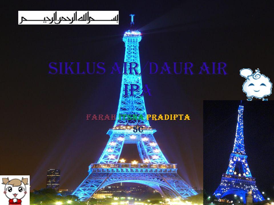 Siklus Air/Daur Air IPA