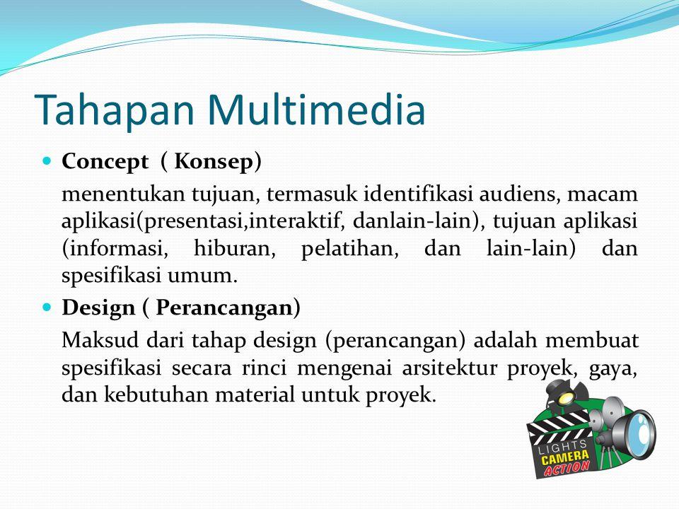 Tahapan Multimedia Concept ( Konsep)