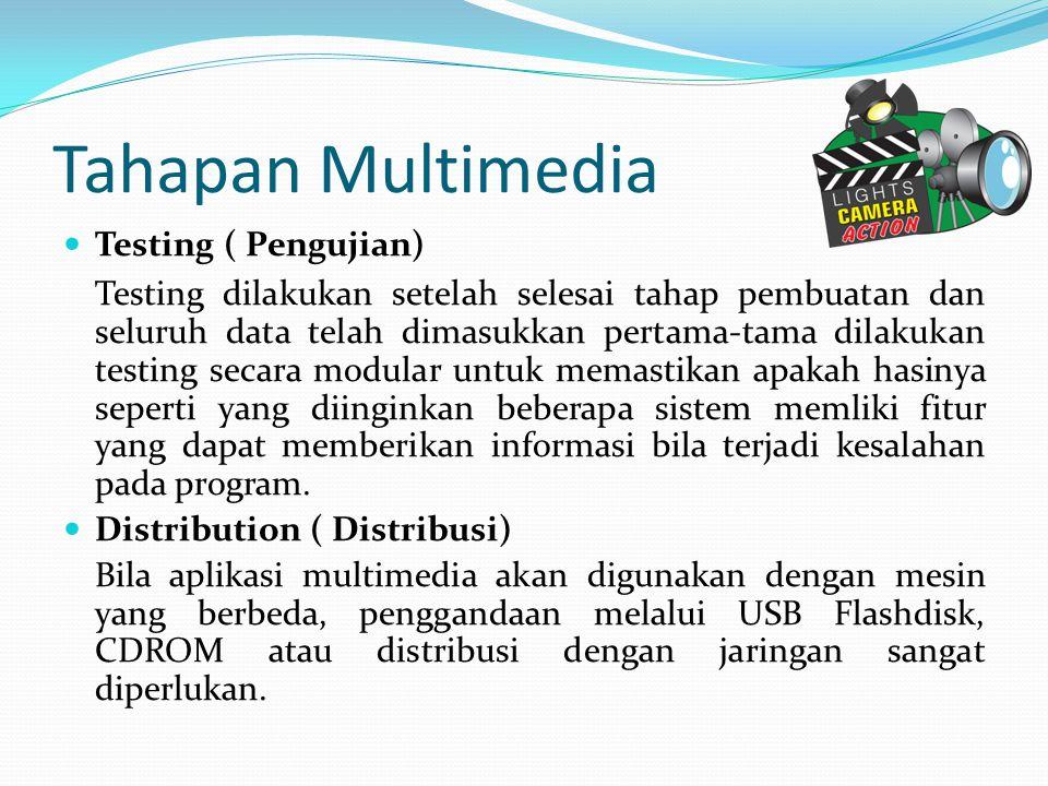 Tahapan Multimedia Testing ( Pengujian)