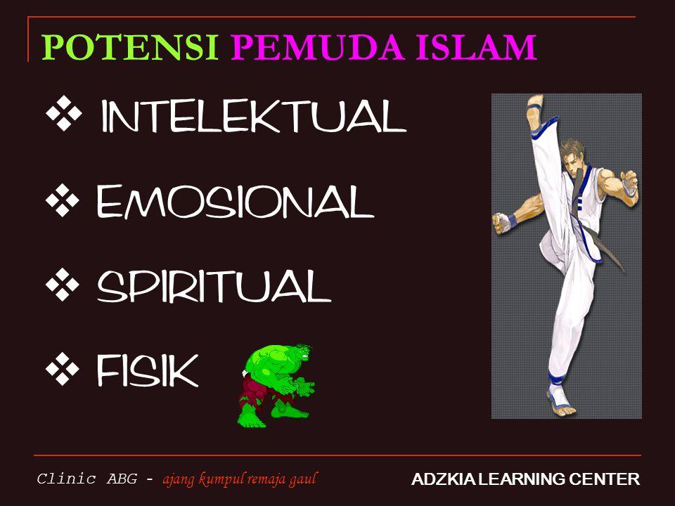 INTELEKTUAL EMOSIONAL SPIRITUAL FISIK POTENSI PEMUDA ISLAM