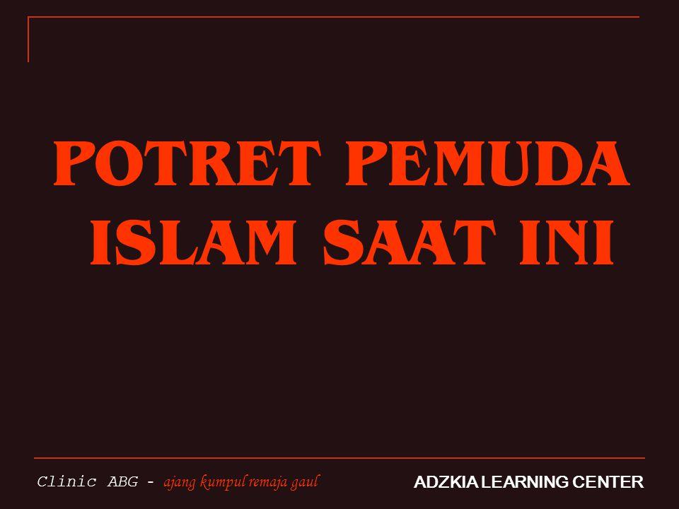 POTRET PEMUDA ISLAM SAAT INI