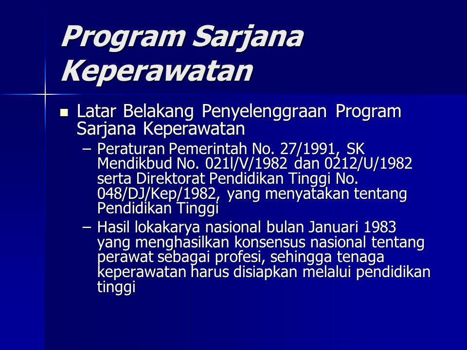 Program Sarjana Keperawatan