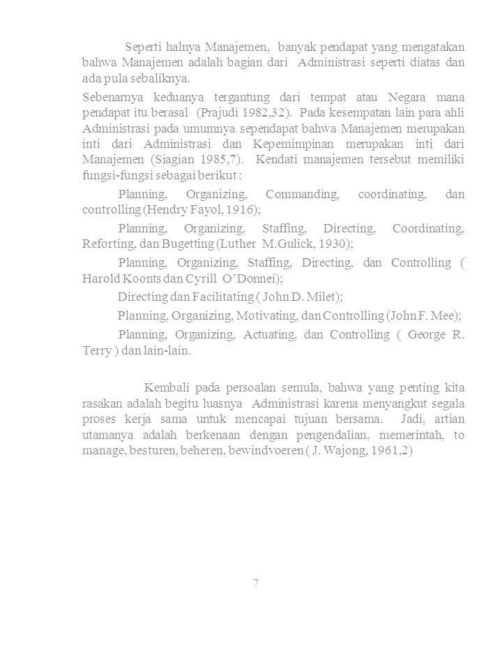 Directing dan Facilitating ( John D. Milet);