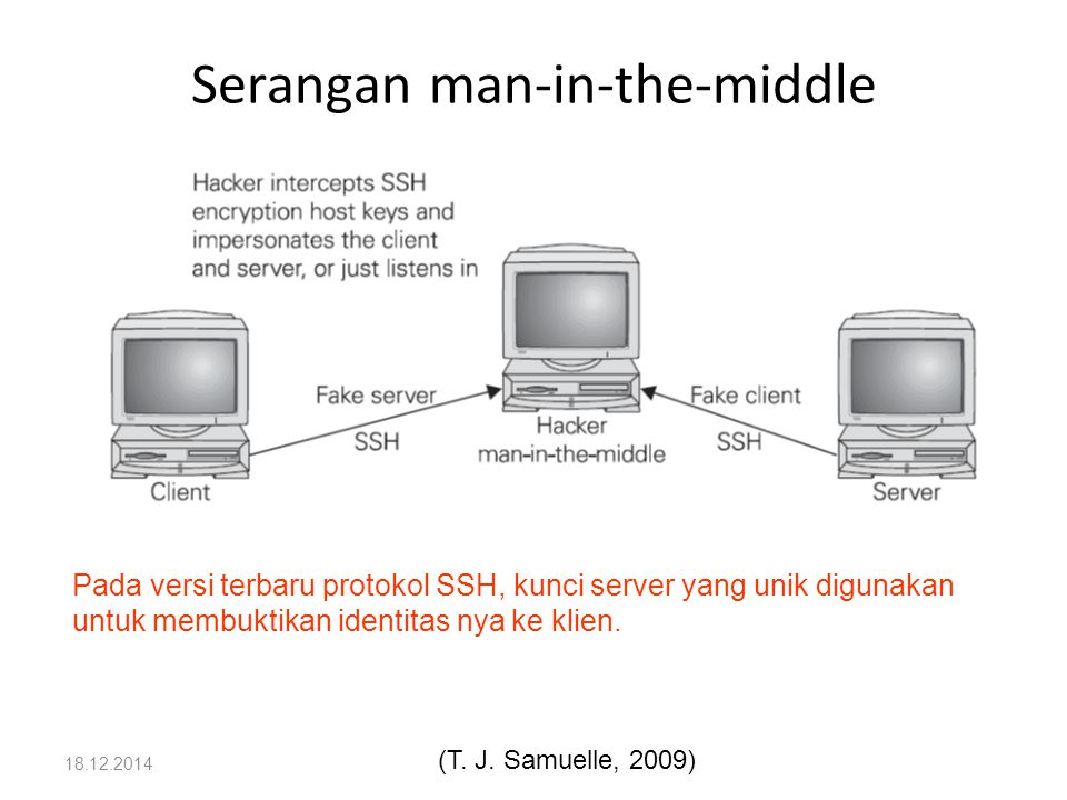 Serangan man-in-the-middle