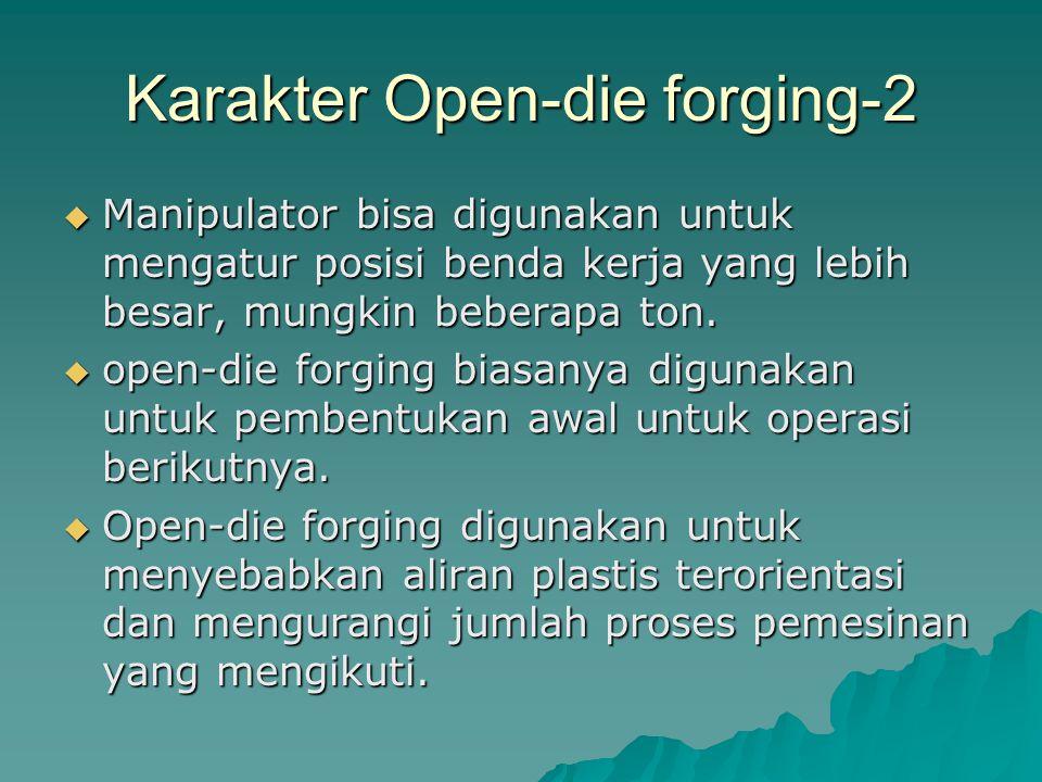 Karakter Open-die forging-2