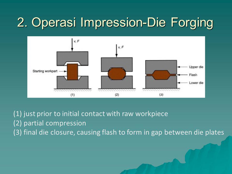 2. Operasi Impression-Die Forging