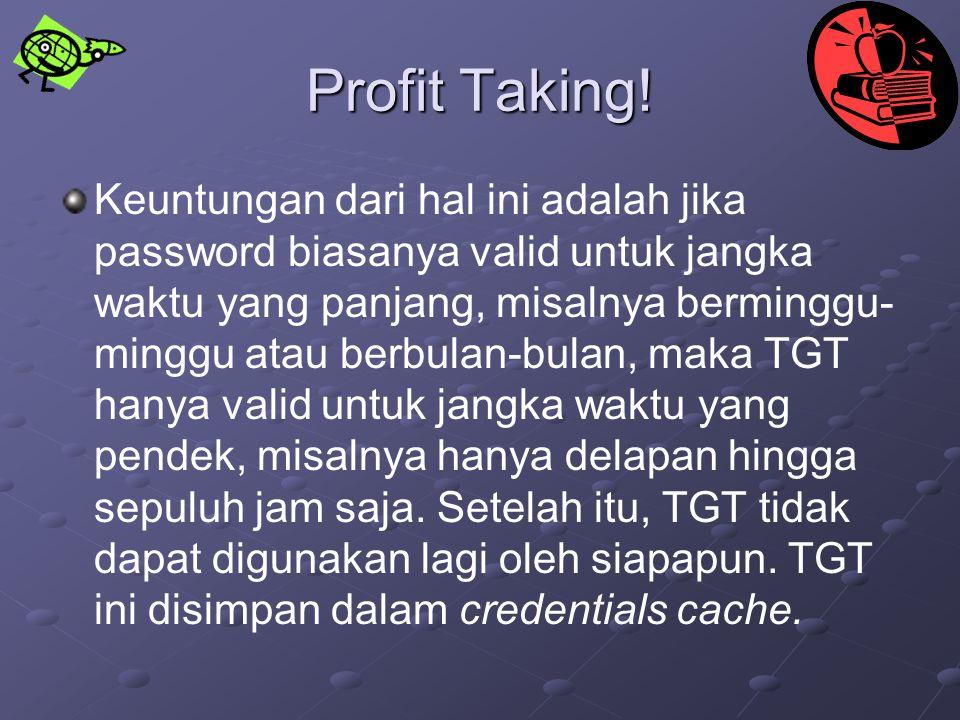 Profit Taking!