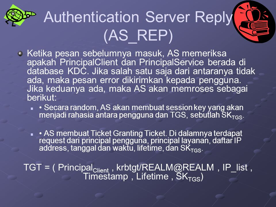 Authentication Server Reply (AS_REP)