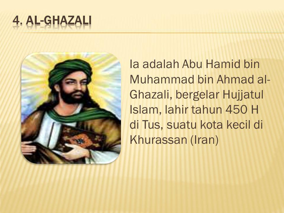 4. AL-GHAZALI