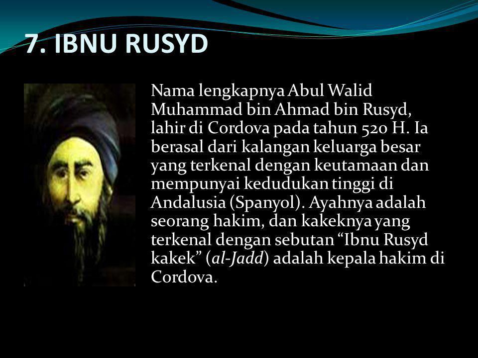 7. IBNU RUSYD