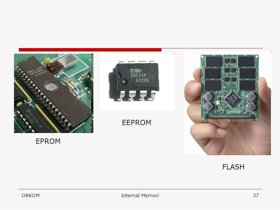 EEPROM EPROM FLASH ORKOM Internal Memori