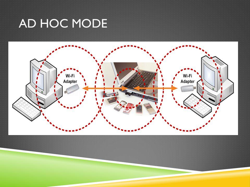 Ad hoc Mode