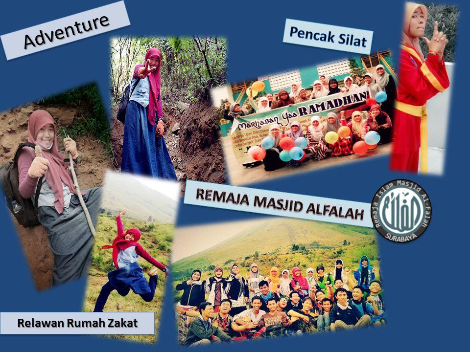 Adventure Pencak Silat REMAJA MASJID ALFALAH Relawan Rumah Zakat