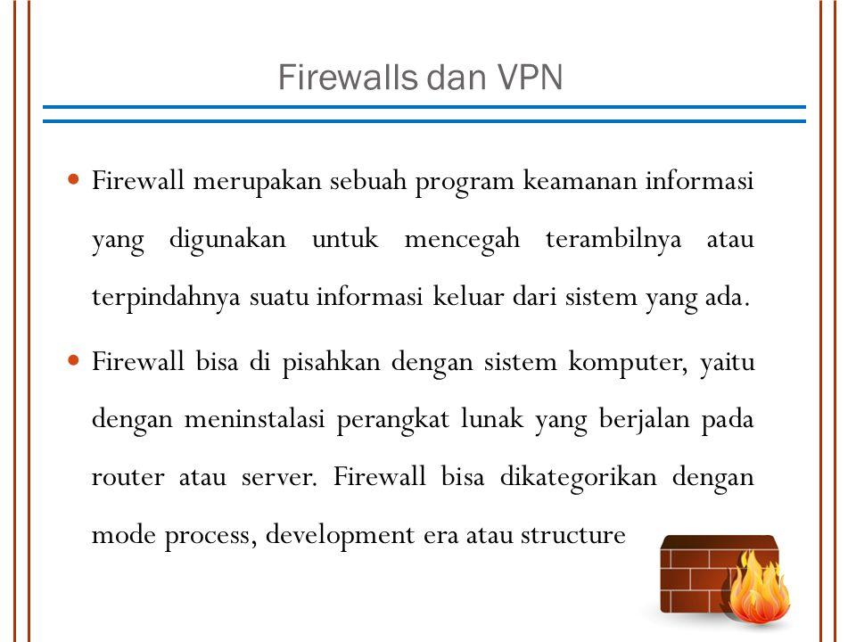 Firewalls dan VPN