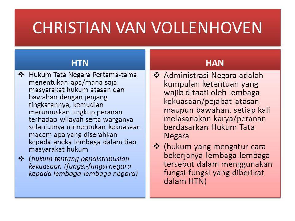 CHRISTIAN VAN VOLLENHOVEN