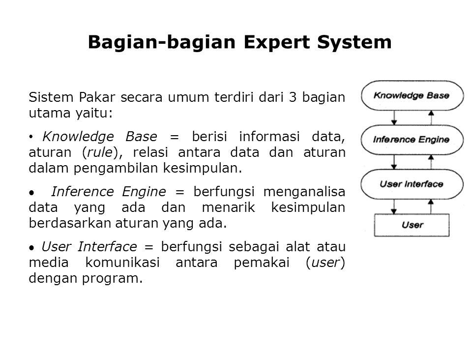 Bagian-bagian Expert System