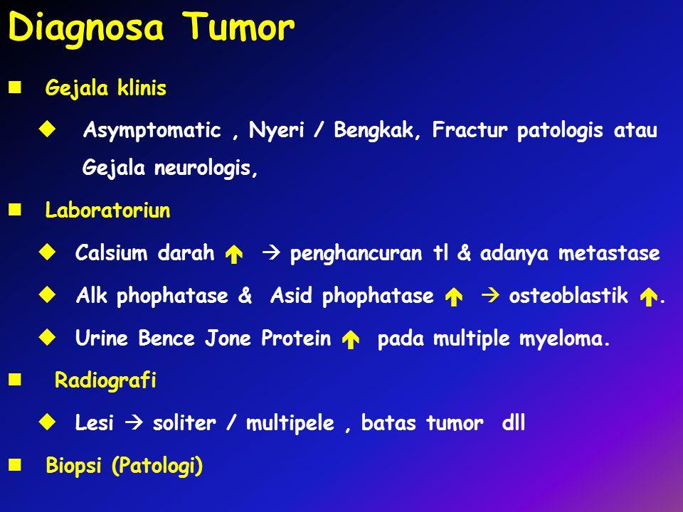 Diagnosa Tumor Gejala klinis