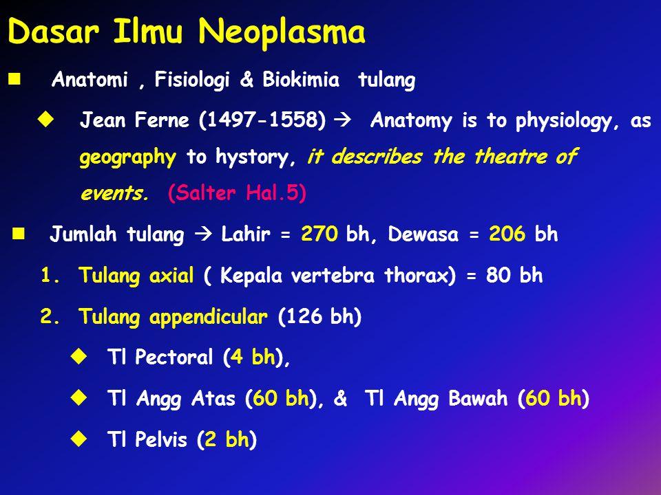 Dasar Ilmu Neoplasma Anatomi , Fisiologi & Biokimia tulang