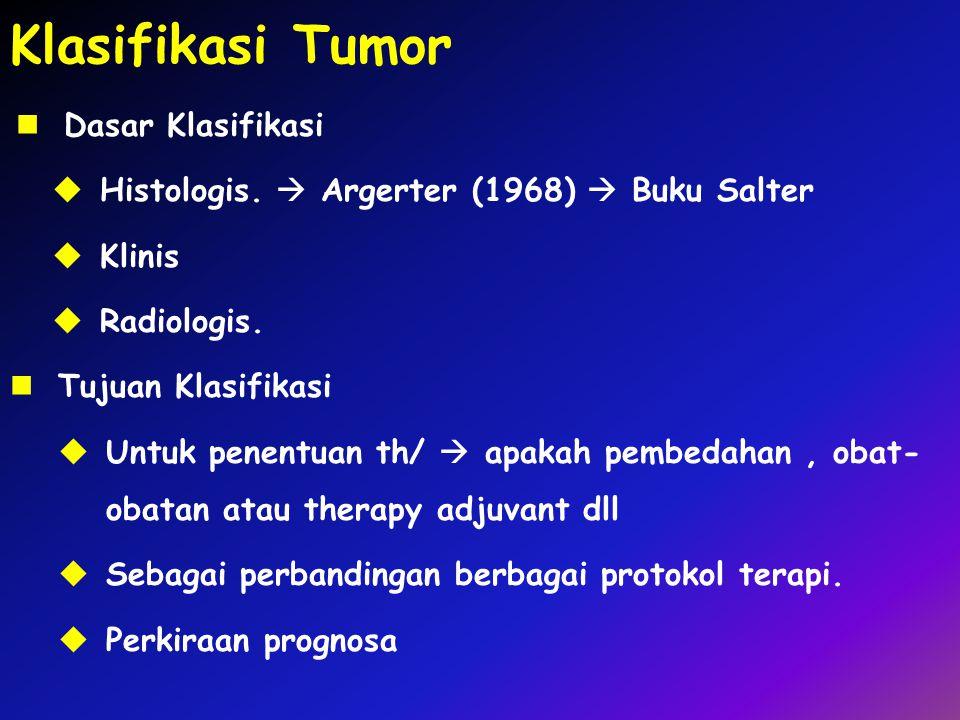 Klasifikasi Tumor Dasar Klasifikasi