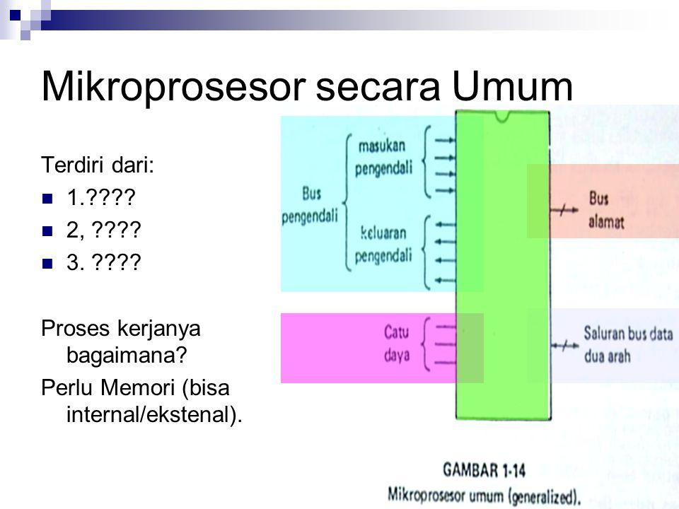Mikroprosesor secara Umum