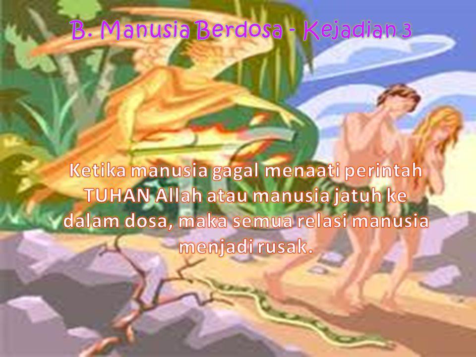 B. Manusia Berdosa - Kejadian 3