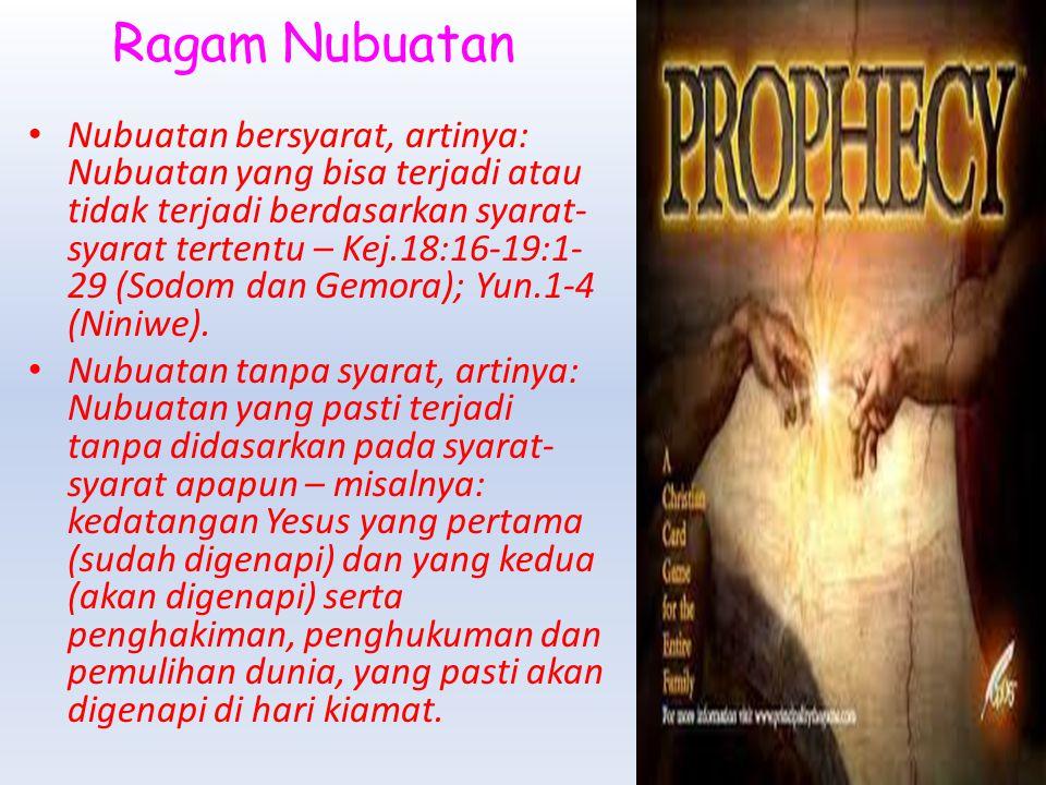 Ragam Nubuatan