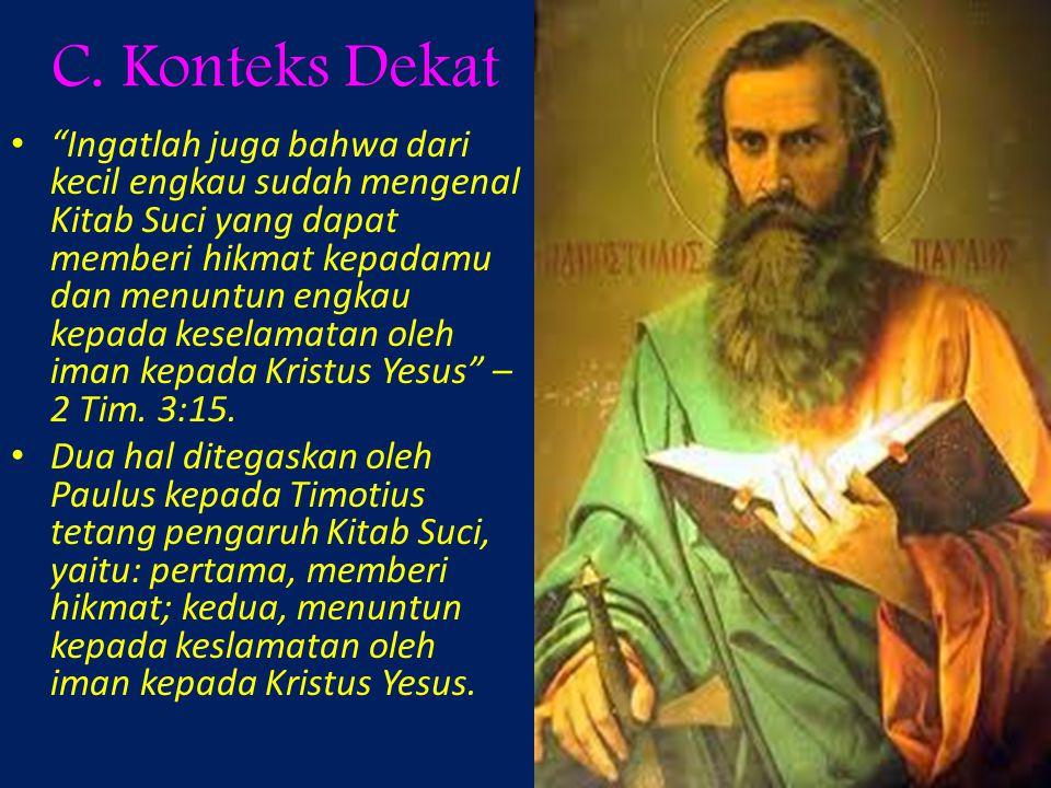 C. Konteks Dekat