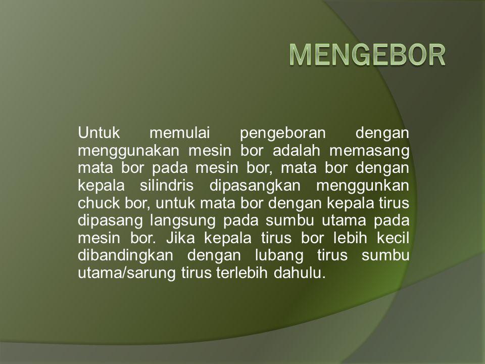Mengebor