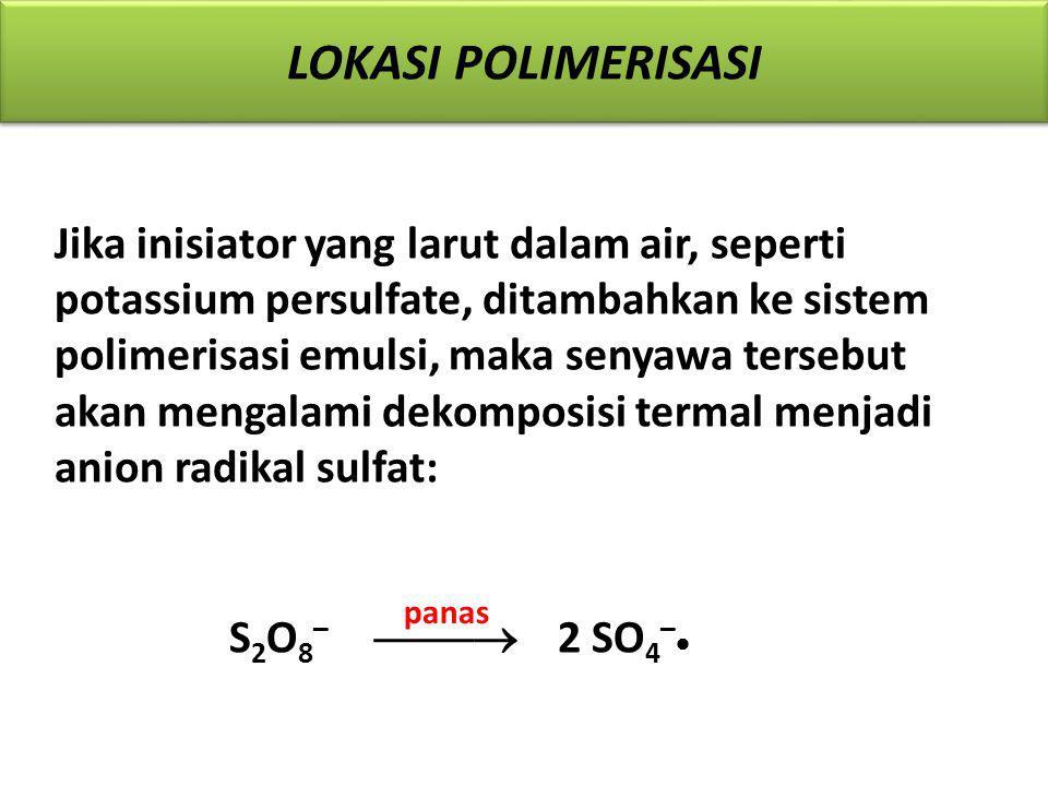 Lokasi Polimerisasi