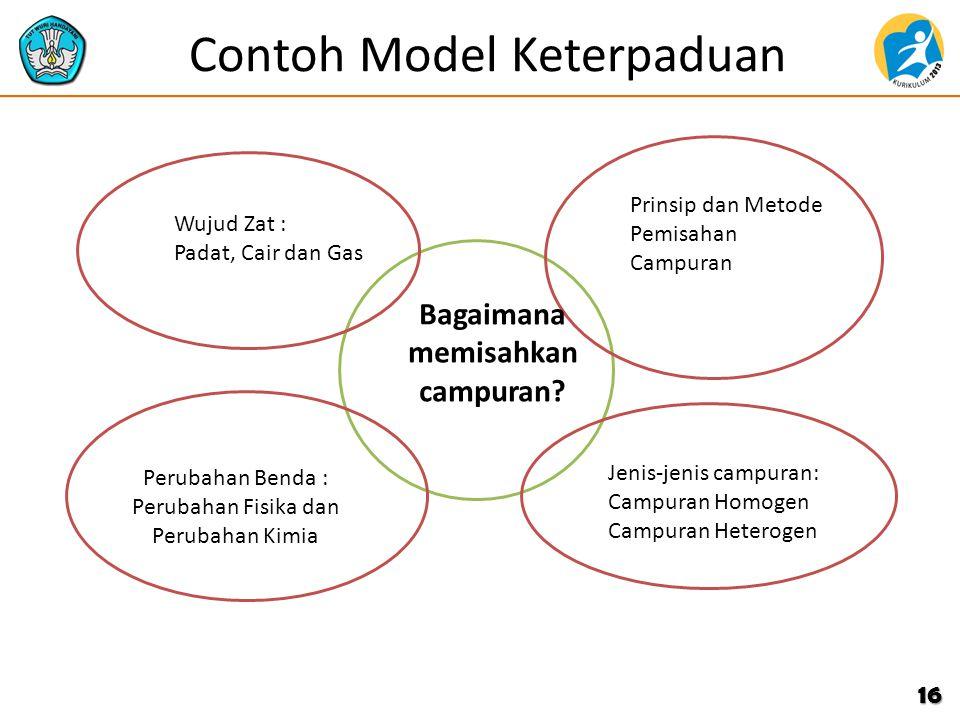 Contoh Model Keterpaduan