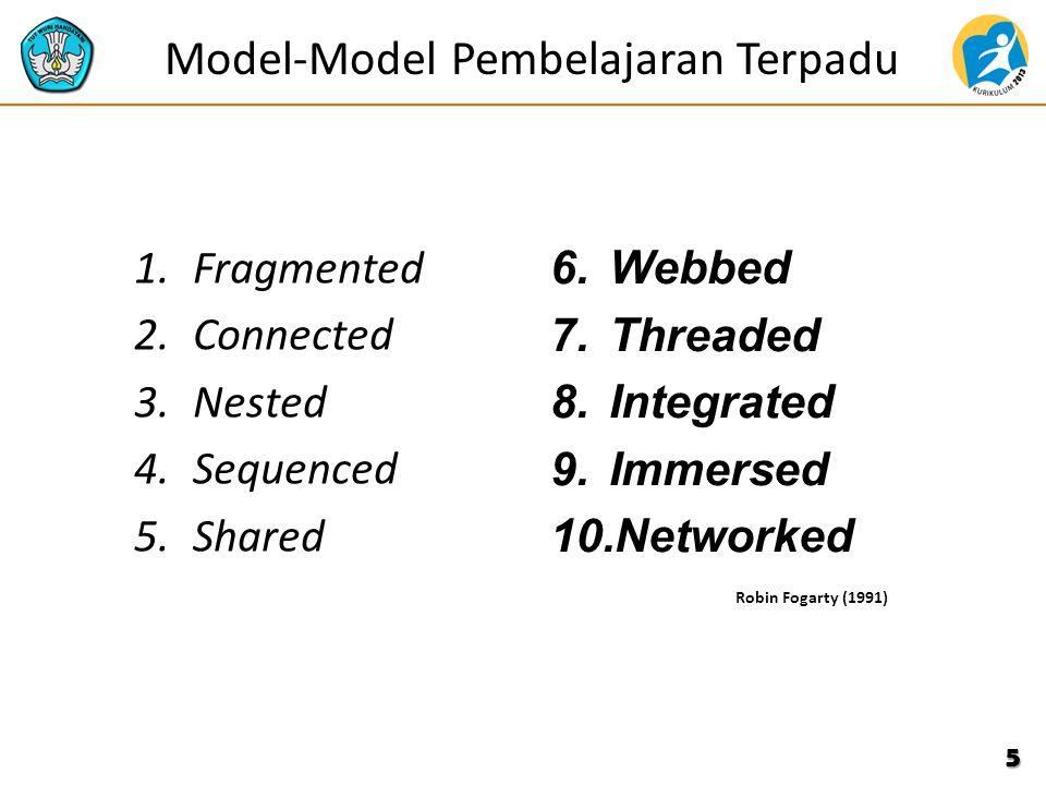 Model-Model Pembelajaran Terpadu