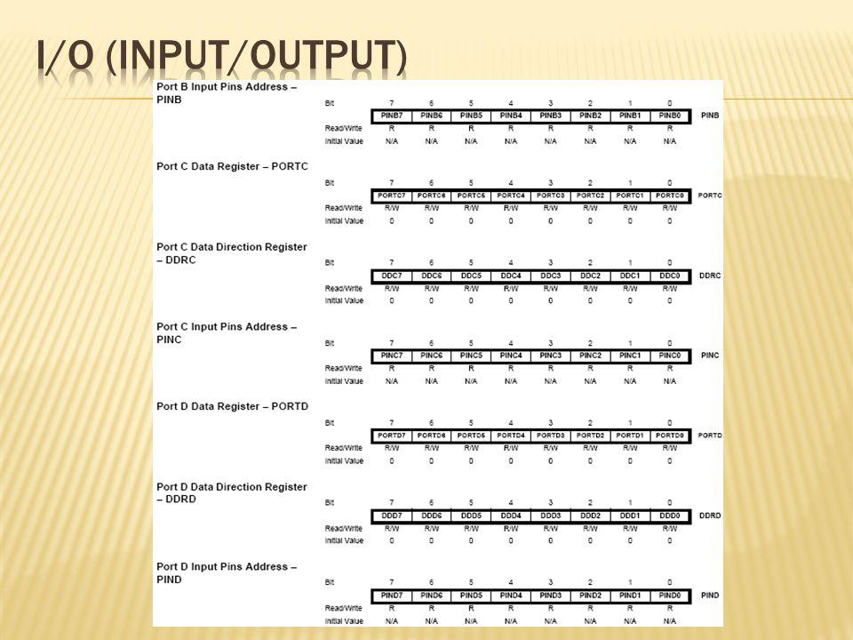 I/O (Input/output)