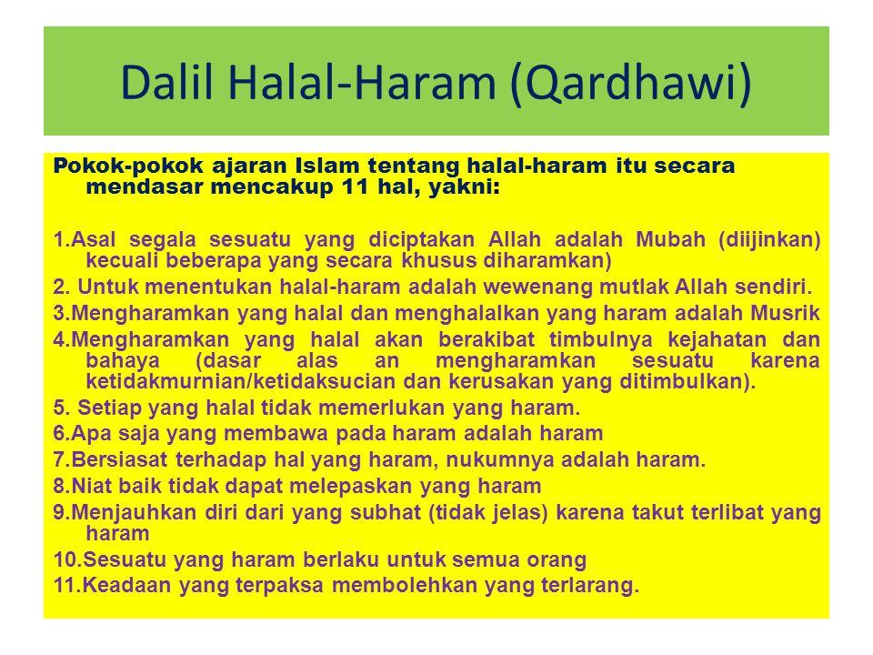 Dalil Halal-Haram (Qardhawi)