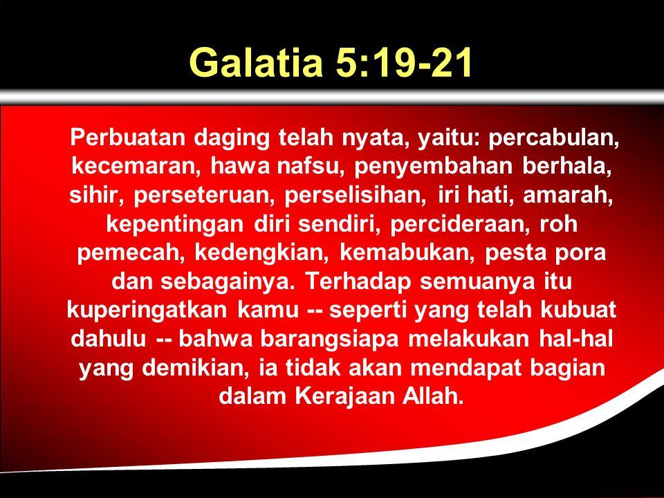 Galatia 5:19-21