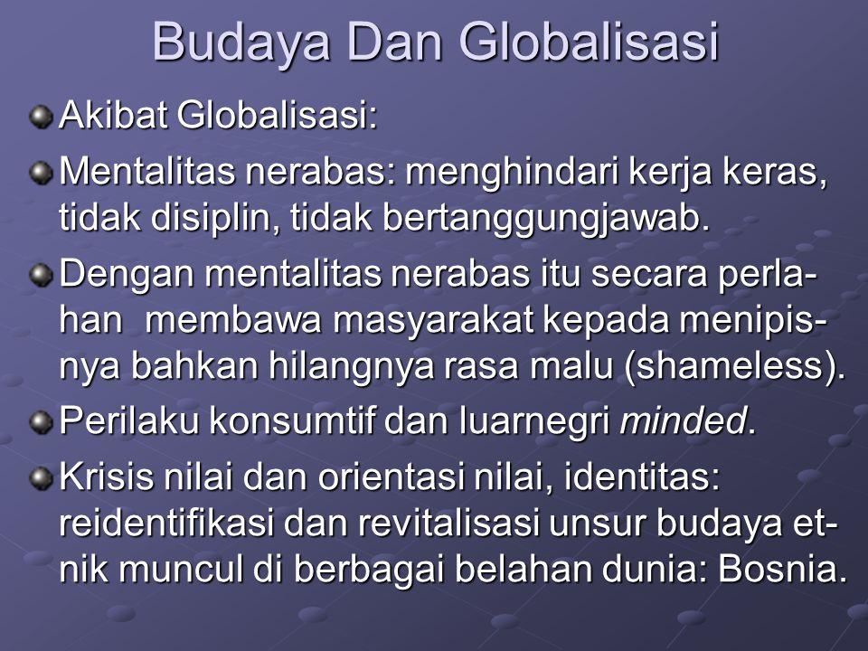 Budaya Dan Globalisasi