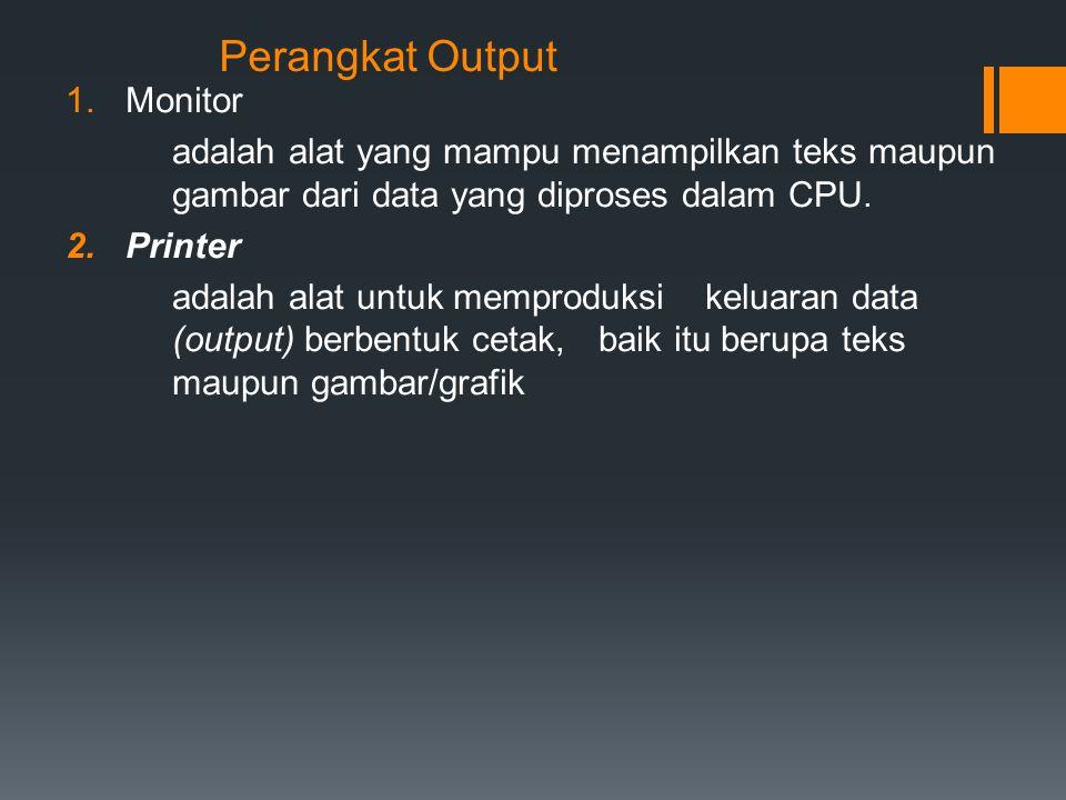 Perangkat Output Monitor
