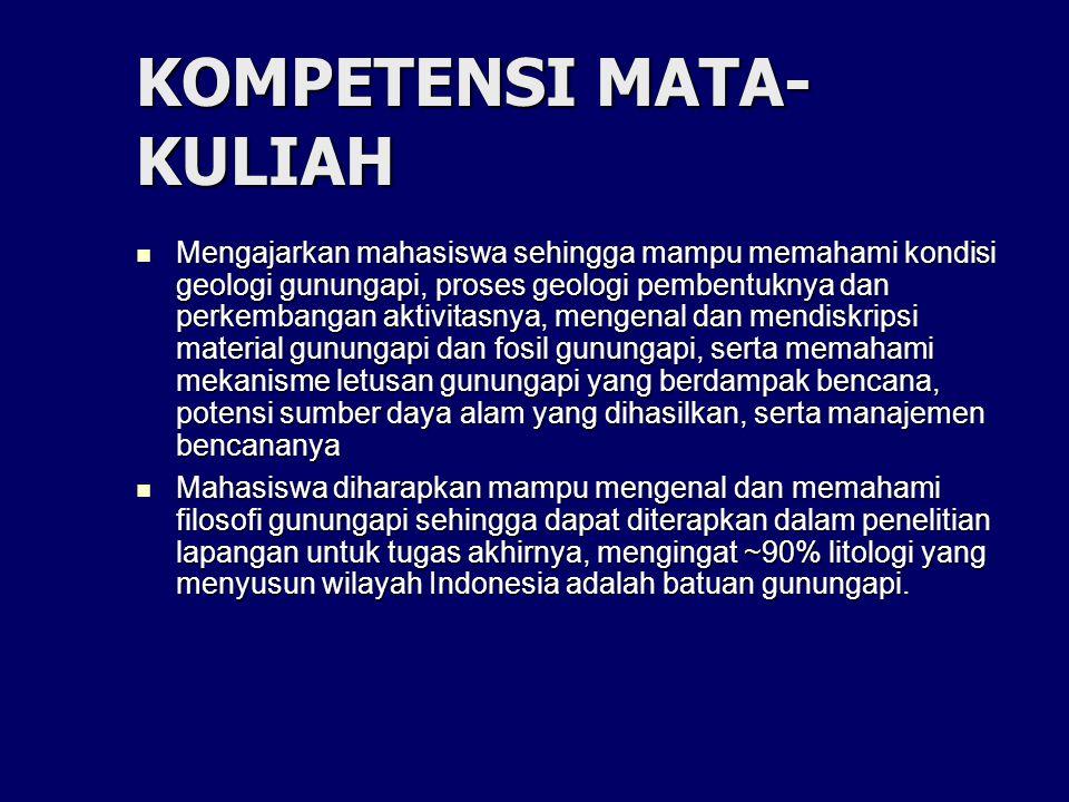 KOMPETENSI MATA- KULIAH