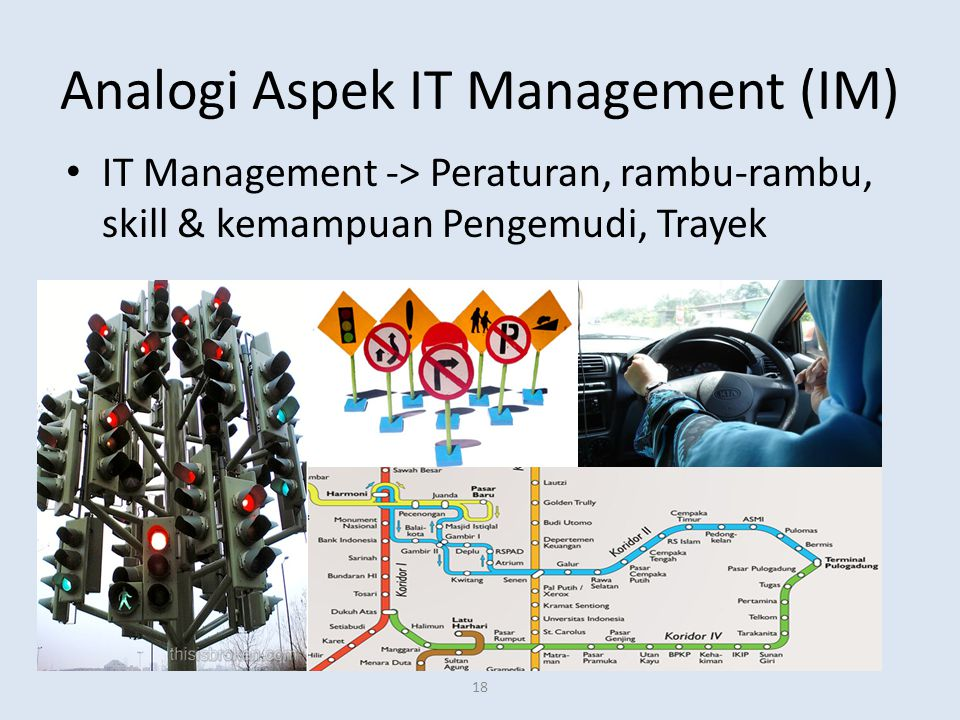 Analogi Aspek IT Management (IM)