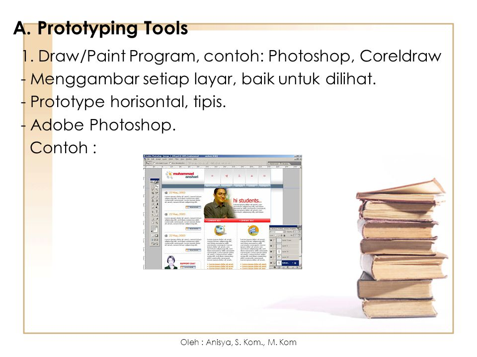 A. Prototyping Tools