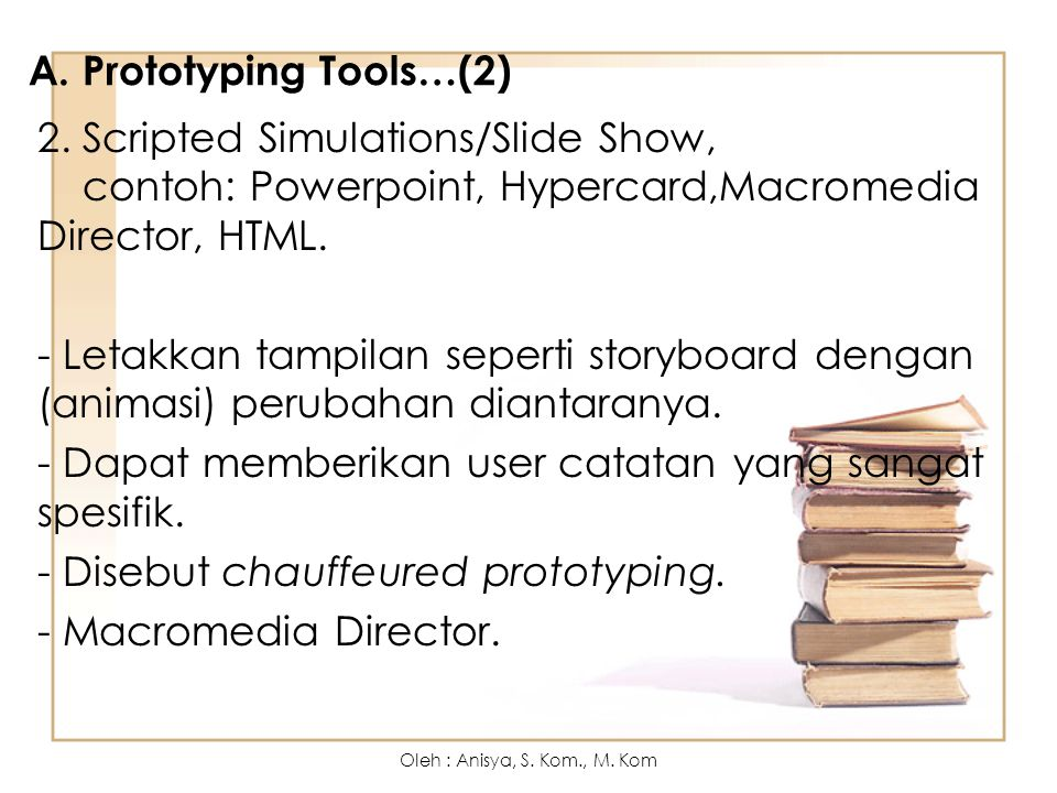 A. Prototyping Tools…(2)