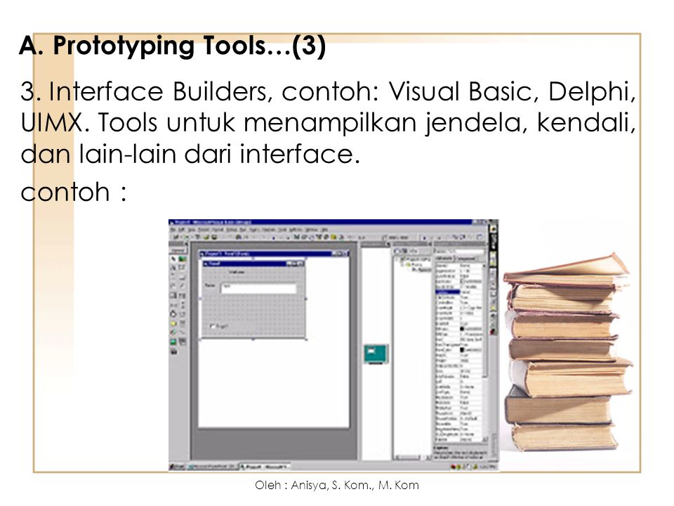 A. Prototyping Tools…(3)