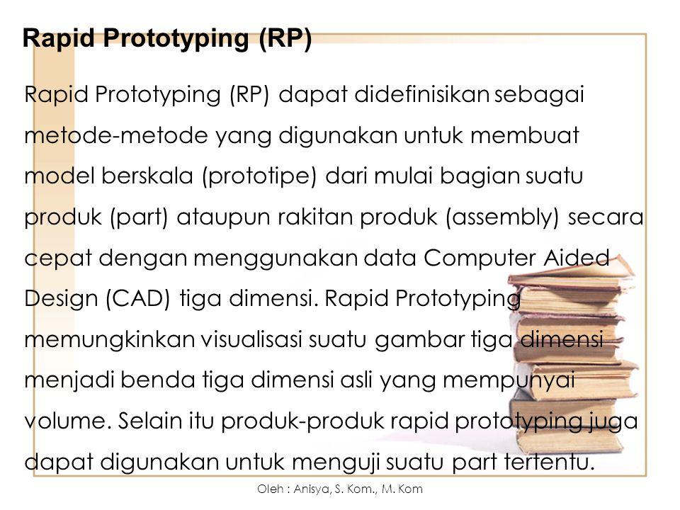 Rapid Prototyping (RP)