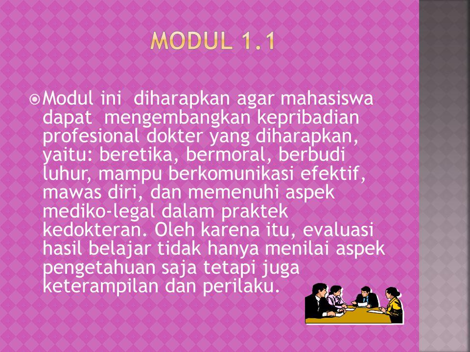 Modul 1.1