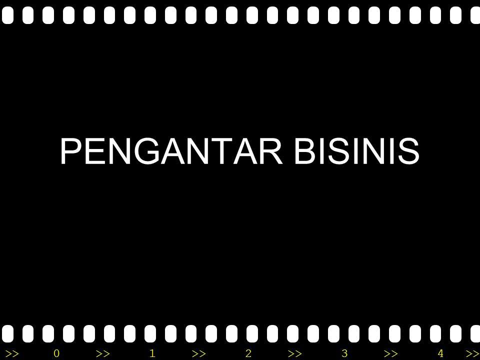 PENGANTAR BISINIS
