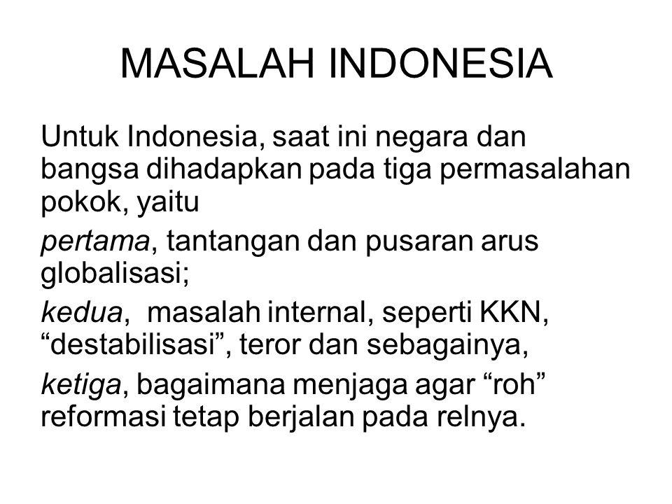 MASALAH INDONESIA