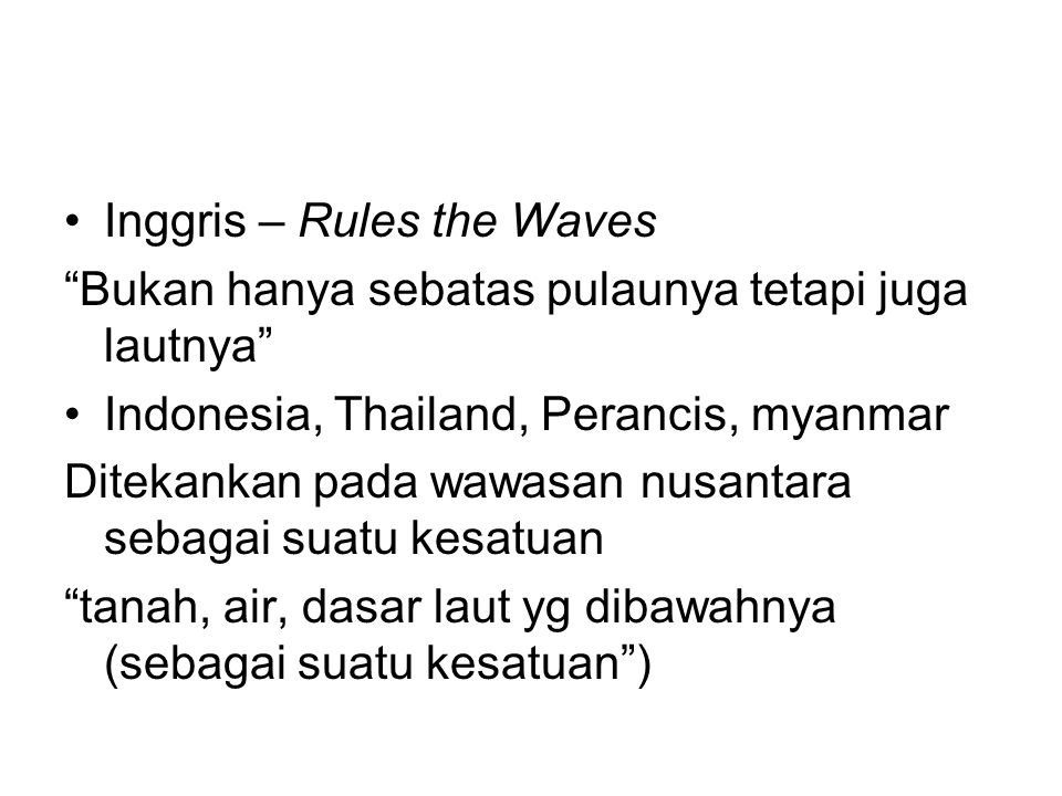 Inggris – Rules the Waves