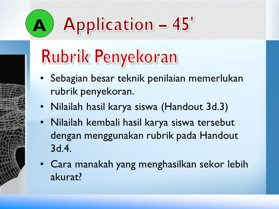 A Rubrik Penyekoran Application – 45
