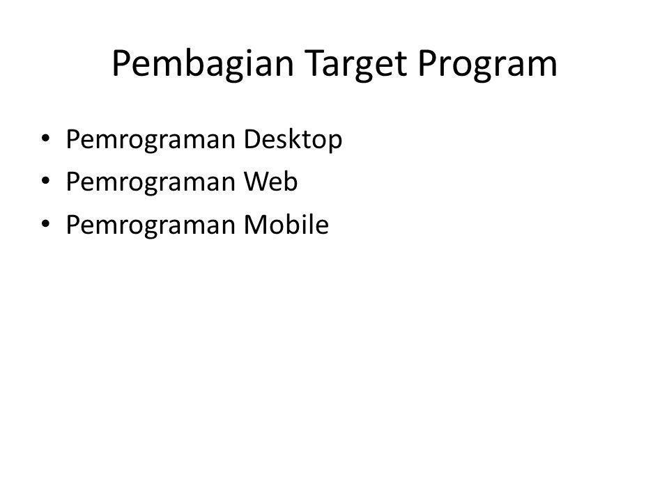 Pembagian Target Program